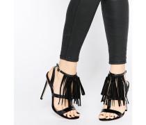 HEY GIRL! Sandalen mit Absatz Schwarz