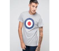Classic Target T-Shirt Grau