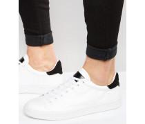 Paper Terrace Sneaker mit niedrigem Schaft Weiß