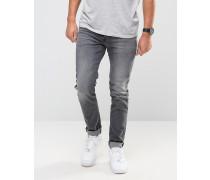 Graue Skinny-Jeans Grau