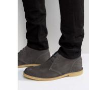 Calabassas Chukka-Stiefel aus Wildleder Grau