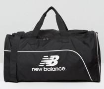 Schwarze Sporttasche mittlerer Größe Schwarz