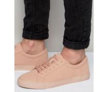 Geschnürte Sneaker in Rosa Rosa