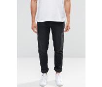 Cirrus Schwarze Skinny-Jeans Schwarz
