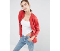 The Ultimate Jersey-Bomberjacke Rot