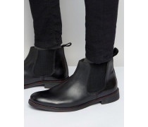 Schwarze Chelsea-Boots Schwarz