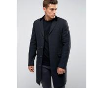 In Großbritannien gewebter Mantel Schwarz