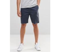 Shorts mit Kordelzug in der Taille Marineblau