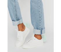 Sneaker mit Bommeln Mehrfarbig