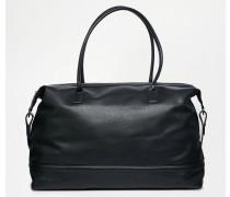 Schwarze Reisetasche Schwarz