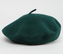 Baskenmütze Grün