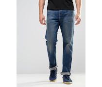 Levi's Bingham 504 Jeans mit geradem Schnitt in Mid Vintage-Waschung Blau