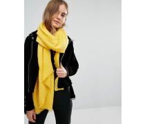Paris Crinkle-Schal Gelb