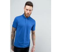 Polohemd Blau