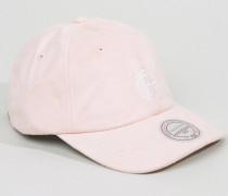 Brooklyn Nets Verstellbare Kappe in Mikrovelour Rosa