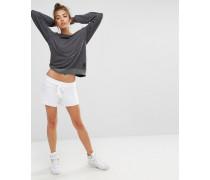 Cutie Schlichte Shorts in Weiß Weiß