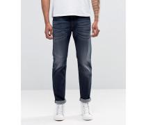 Buster Gerade Jeans in dunkler Waschung, 853V Blau