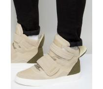 Tribeca Knöchelhohe Sneaker Beige