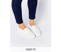 DULCIE Breite Sneaker Weiß