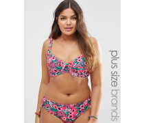 Gwendolen Bikinioberteil in großer Größe Rosa