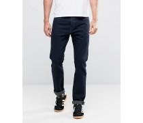 Levi's 510 Enge Jeans in verwaschenem Hillmound Indigo Marineblau