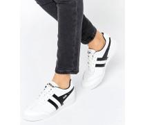 Harrier Hochwertige Sneaker aus Leder Weiß