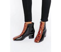 REAPER Ankle-Boots Schwarz