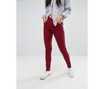 Skinny-Jeans mit 5 Taschen Rot