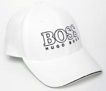 By Hugo Boss Baseballkappe mit Logo Weiß