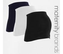Bauchbänder im 3er-Set Marineblau