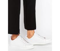 Kenley Sneaker in Kroko Weiß