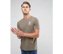 Franklin and Marshall T-Shirt mit Schriftzug und Logo Grün