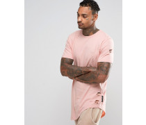 T-Shirt im Used-Look Rosa