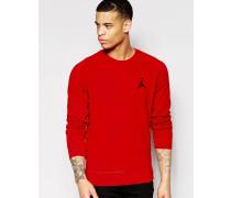 Nike Jumpan Flight Sweatshirt in Rot 823068-687 Rot