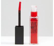 Colour Sensation Flüssiger Lippenstift Vivid Matte Rosa