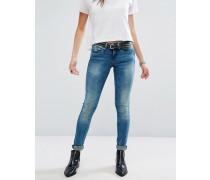 Carly Enge Jeans Blau