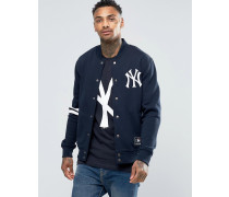 Yankees Letterman Jacke Marineblau