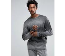Pullover mit farblich abgestimmten Streifen Grau