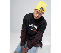 x Thrasher Mütze Gelb