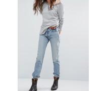 Monroe Vintage-Mom-Jeans Blau