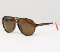 Marco Visor-Sonnenbrille Braun