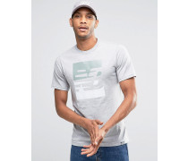 SS Graues T-Shirt mit Logo, MT63514_AG Grau