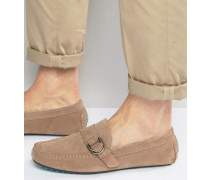 Garib Wildleder-Loafer Beige