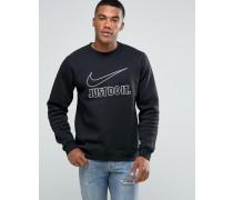 Schwarzer Pullover, 804645-010 Schwarz
