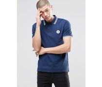 Chuck 10003129-A03 Blaues Polohemd Blau