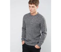 Grauer Pullover Schwarz