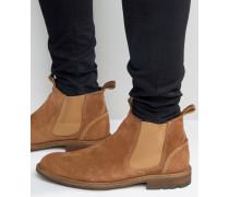 Andreae Chelsea-Stiefel aus Wildleder Bronze