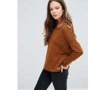 Nille Langärmliges Sweatshirt Braun