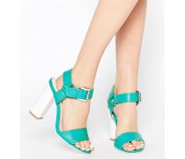 Vela Sandalen mit Blockabsatz Blau