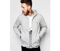 Paul Smith Jeans Kapuzenpullover mit Zebra-Logo Grau